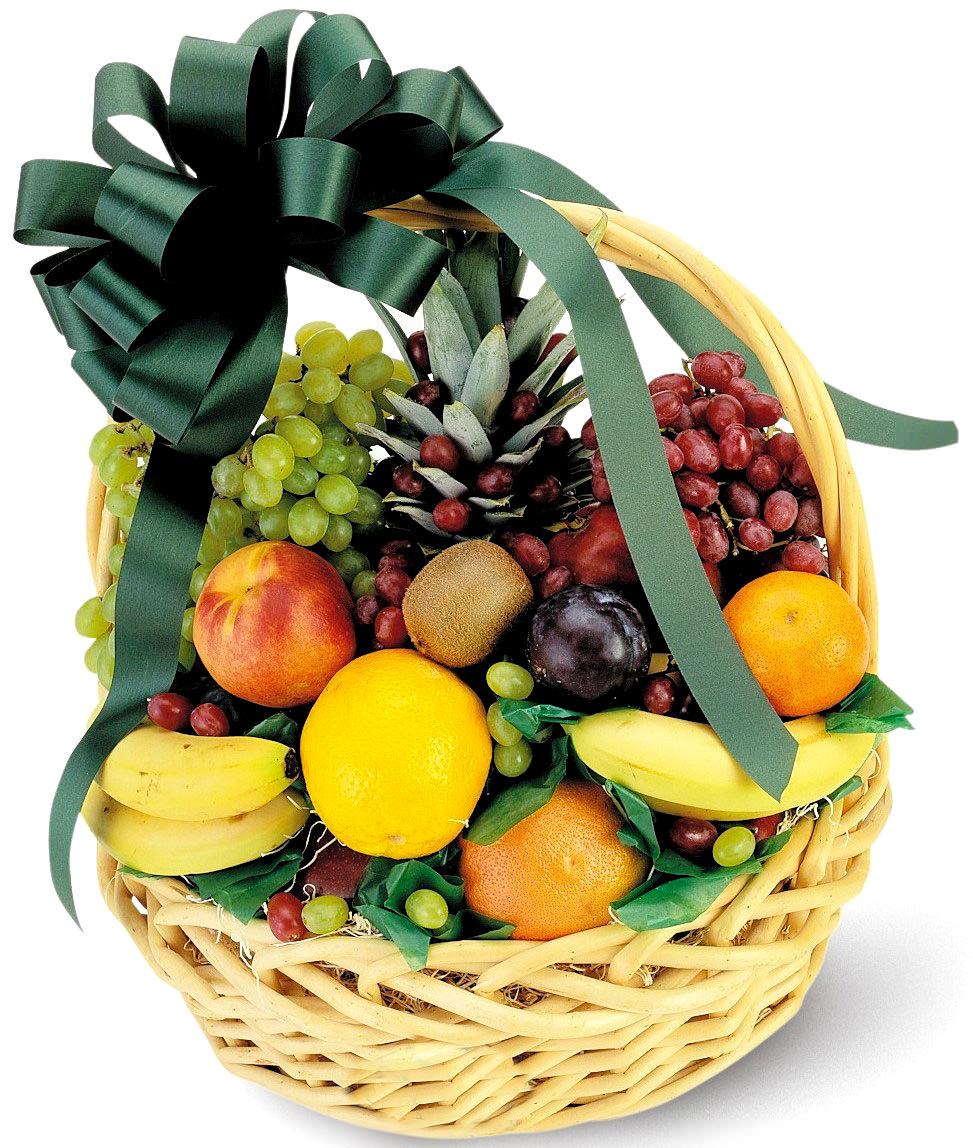 Корзины с фруктами своими руками фото